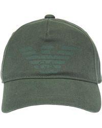 23913f78 Men's Emporio Armani Hats Online Sale - Lyst