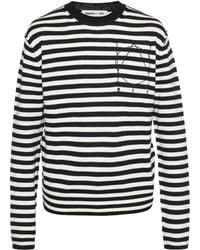 McQ - Striped Sweater - Lyst