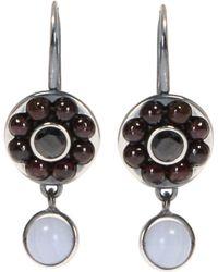 Bottega Veneta - Silver Earrings - Lyst