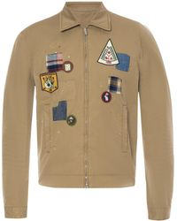 DSquared² - Patched Jacket - Lyst