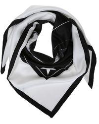 Givenchy - Printed Silk Shawl - Lyst
