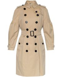 Burberry - 'redhill' Double-breasted Trench Coat - Lyst