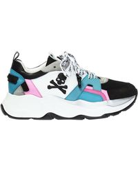Philipp Plein Runner Gothic' Sport Shoes - Blue