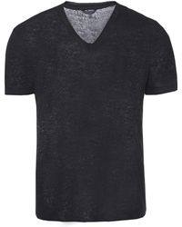 John Varvatos - V-neck T-shirt - Lyst