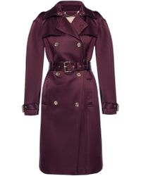 Michael Kors - Double-breasted Coat - Lyst
