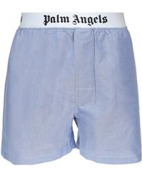 Palm Angels - Logo Printed Boxers - Lyst