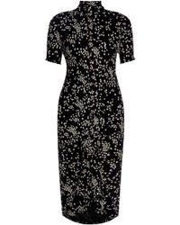 659febd0a5726 See By Chloé - Floral-print Stretch-jersey Dress - Lyst