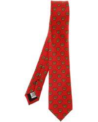 Moschino - Teddy Bear Head Tie - Lyst