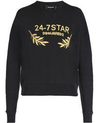 DSquared² - Appliqued Sweatshirt - Lyst
