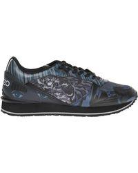 KENZO - Patterned Sneakers - Lyst