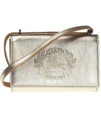 1affca72b40f Burberry - Branded Shoulder Bag - Lyst