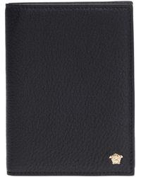 d359831cb3c4 Versace - Medusa Head Passport Holder - Lyst