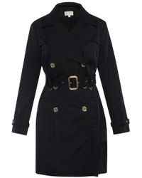 Michael Kors - Double-breasted Trench Coat - Lyst
