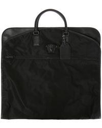 109e9e005ab9 Lyst - Versace Medusa Head Nylon Weekender Black in Black for Men