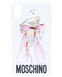 Moschino - Iphone X Case With Logo - Lyst