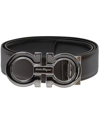 Ferragamo - Reversible Leather Belt - Lyst