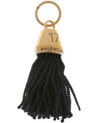 Balenciaga - Tasselled Key Ring - Lyst