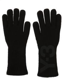 Y-3 | Logo-printed Gloves | Lyst