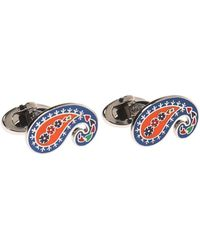 Etro - Patterned Cuff Links - Lyst