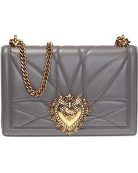 Dolce & Gabbana - 'devotion' Quilted Shoulder Bag - Lyst