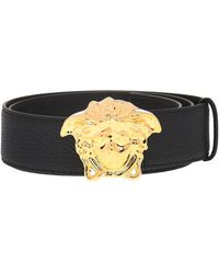 Versace - Belt With Decorative Buckle - Lyst