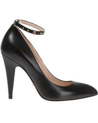 Gucci - Leather Pumps - Lyst