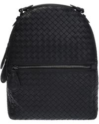 Bottega Veneta - 'intrecciato' Pattern Backpack - Lyst