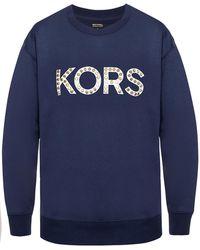 Michael Kors - Branded Sweatshirt - Lyst