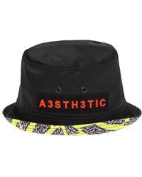 3f36f51dc488e DIESEL Bucket Hat in Black for Men - Lyst