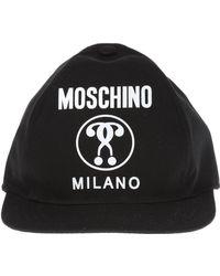 3bd0464f8a4 Hot Moschino - Baseball Cap - Lyst
