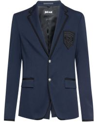 Just Cavalli - Grosgrain-trim Blazer - Lyst