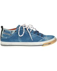 a1246dcd114010 Lyst - DIESEL Exposure Low Trainers Bright in White for Men