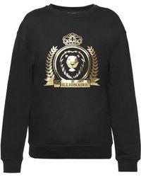 Billionaire - 'lynn' Logo-printed Sweatshirt - Lyst