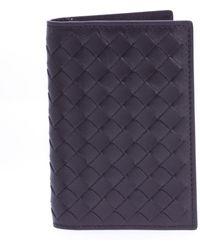Bottega Veneta - Leather Cardholder - Lyst