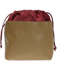 Marni - Leather-trimmed Backpack - Lyst