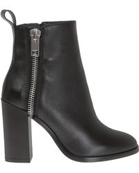 DIESEL - 'd-zippher H' Heeled Ankle Boots - Lyst