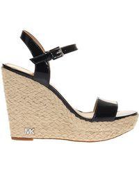 Michael Kors - 'jill' Wedge Sandals - Lyst