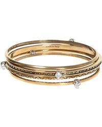 Alexander McQueen - Set Of Four Bracelets - Lyst