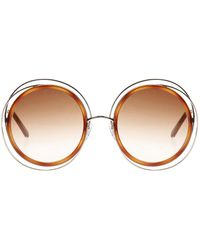 Chloé - 'carlina' Sunglasses - Lyst