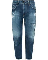 DIESEL 'narrot' Distressed Jeans