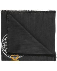 KENZO - Embroidered Scarf - Lyst