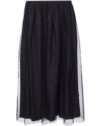 RED Valentino - Tulle Skirt - Lyst