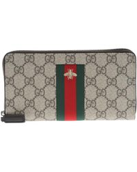 Gucci - 'GG Supreme' Wallet - Lyst