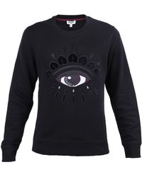 KENZO - Cotton Sweatshirt With Eye - Lyst