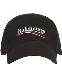 f38863ae712 Lyst - Balenciaga Sinners Baseball Cap in Black for Men