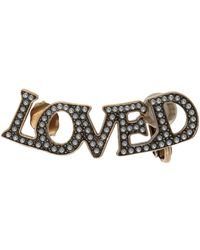 Gucci - 'loved' Earring - Lyst