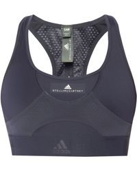 afe871493e Lyst - Adidas By Stella Mccartney Padded Sports Bra W  Tags in Gray