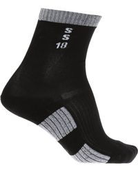 Rick Owens - Embroidered Lettering Socks - Lyst