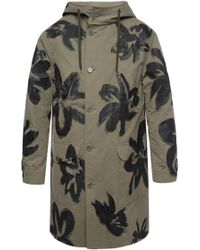 Moschino - Painted Oversize Coat - Lyst