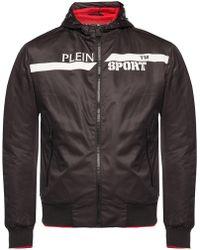 3ea0f77b596 Philipp Plein Be Mine Bomber Jacket in Black for Men - Lyst